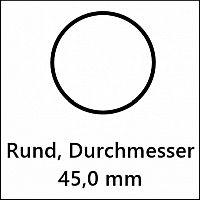 45,0 mm