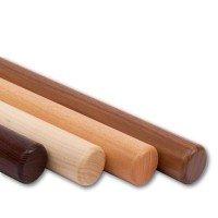 Handlauf Holz Endenbearbeitung radius.
